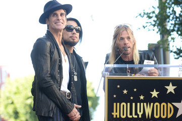 Chris Chaney Jane's Addiction Honored on the Walk of Fame