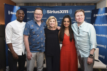 Chris Chibnall SiriusXM's Entertainment Weekly Radio Broadcasts Live From Comic-Con In San Diego
