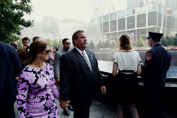 Chris Christie Mary Pat Foster New York Remembers 9/11