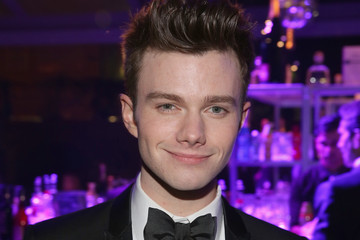 Chris Colfer Arrivals at the Elton John AIDS Foundation Oscars Viewing Party — Part 2