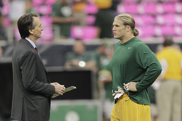 Chris Collinsworth Green Bay Packers v Houston Texans