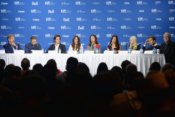 Chris Cooper Abigail Breslin 'August: Osage County' Press Conference in Toronto