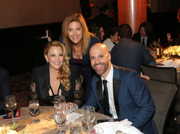 The Trevor Project's TrevorLIVE LA 2019 - Show [event,meal,dinner,banquet,supper,party,formal wear,lunch,restaurant,suit,guest,chris daughtry,deanna daughtry,l-r,california,beverly hills,the beverly hilton hotel,trevor project,trevorlive la 2019 - show]