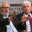 Chris Dodd Jack Lew Takes Part In Event Marking 5th Anniversary of Dodd-Frank Reforms