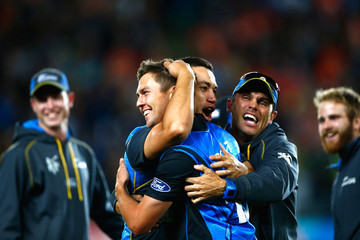 Chris Donaldson New Zealand v South Africa: Semi Final - 2015 ICC Cricket World Cup