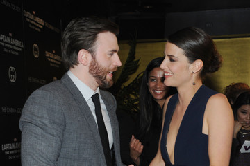 Chris Evans 'Captain America: The Winter Soldier' Screening in NYC