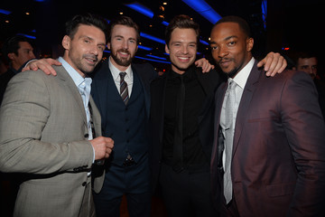 Chris Evans Anthony Mackie 'Captain America: The Winter Soldier' Afterparty