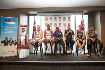 Chris Goulding Dean Vickerman NBL Grand Final Media Opportunity