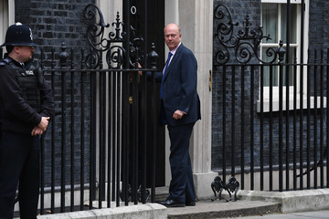 Chris Grayling Theresa May Holds First Cabinet Meeting Since Conservative Party Conference