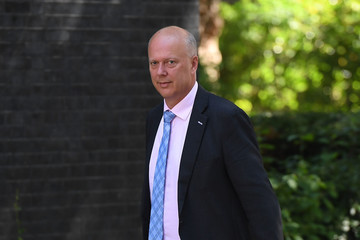 Chris Grayling Prime Minister Theresa May Holds Talks With Northern Ireland Political Parties About DUP Deal
