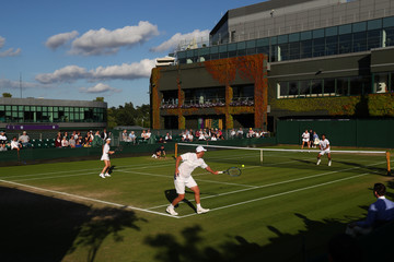 Chris Guccione Middle Sunday: The Championships - Wimbledon 2016