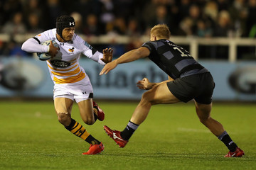 Chris Harris Newcastle Falcons vs. Wasps - Gallagher Premiership Rugby