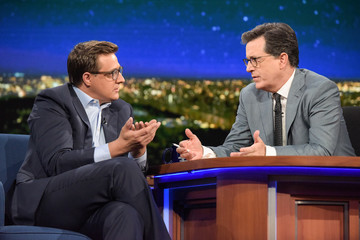 "Chris Hayes CBS's ""The Late Show with Stephen Colbert"" - Season Two"