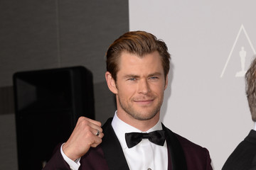 Chris Hemsworth Press Room at the 86th Annual Academy Awards