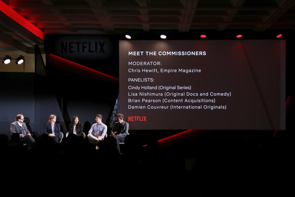 219dff89ca32 Chris Hewitt and Damien Couvreur Photos Photos - Netflix See What s ...