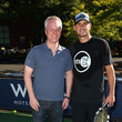 Chris Holdren Andy Roddick Tennis Clinic for Starwood Preferred Guest at 2014 U.S. Open