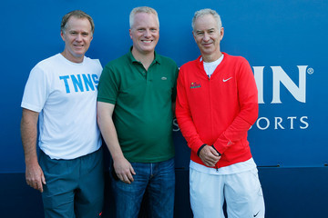 Chris Holdren McEnroe Brothers Host Starwood Preferred Guest Member Tennis Clinic