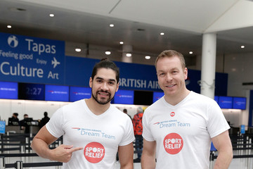 Chris Hoy The British Airways Dream Team At London Gatwick