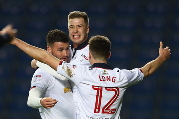 Chris Long Oxford United v Bolton Wanderers - Sky Bet League One