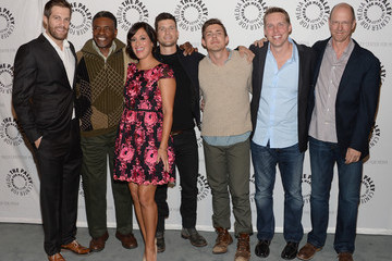 Chris Lowell Geoff Stults 'Enlisted' Screening in Beverly Hills
