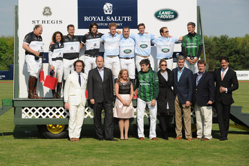 Chris Marchand Celebs at the Sentebale Royal Salute Polo Cup — Part 4