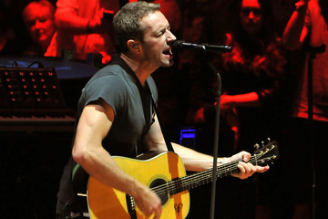 Chris Martin Coldplay Performs at the Royal Albert Hall