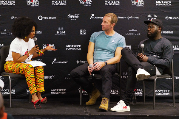 Chris Martin And Kweku Mandela In Conversation Ahead Of Global Citizen Festival: Mandela 100
