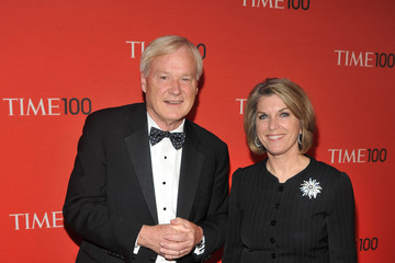 Chris Matthews with sweet, nice, Wife Kathleen Matthews