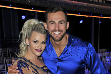 Chris Mazdzer Witney Carson ABC's 'Dancing With The Stars: Athletes' Season 26 - April 30, 2018 - Arrivals