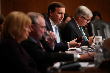 Chris Murphy Surgeon General Jerome Adams Testifies To Senate Health Committee