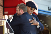 Actors LL Cool J and Chris O'Donnell attend a ceremony honoring Chris O'Donnell with the 2544th Star on Hollywood Walk Of Fame on March 5, 2015 in Hollywood, California.
