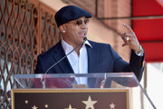 Actor LL Cool J  attends a ceremony honoring Chris O'Donnell with the 2544th Star on Hollywood Walk Of Fame on March 5, 2015 in Hollywood, California.