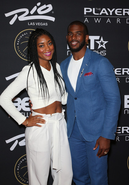 Chris Paul and Wife at the Players Awards | Terez Owens ...