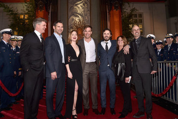 Chris Pine Eric Bana Premiere of Disney's 'The Finest Hours'