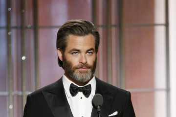 Chris Pine 74th Annual Golden Globe Awards - Show