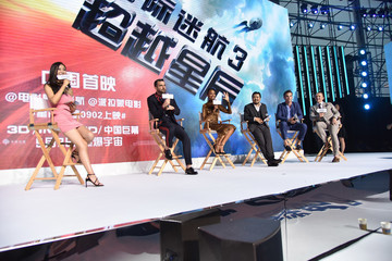 Chris Pine Zachary Quinto 'Star Trek Beyond' Asia Tour - Beijing Press Conference