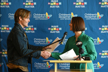 Chris Pine Children's Hospital Los Angeles Fourth Annual Make March Matter Fundraising Campaign Kick-off Event In Los Angeles