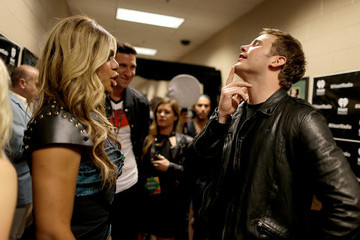 Chris Pratt 2014 iHeartRadio Music Festival - Night 2 - Backstage