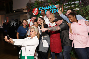 Chris Santos Change For Kids Hosts Their Sixth Annual Super Chefs Benefit At The Altman Building In NYC