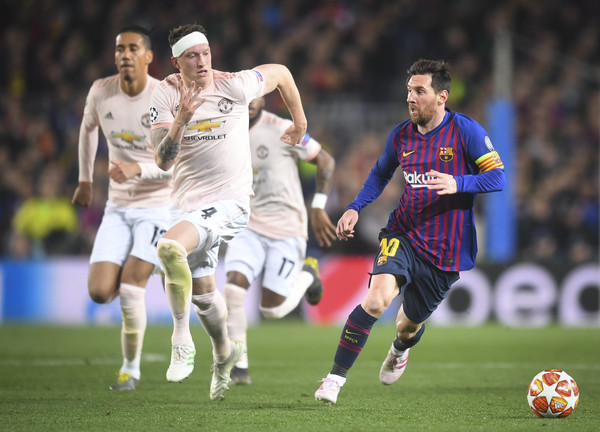 FC Barcelona v Manchester United - UEFA Champions League Quarter Final: Second Leg