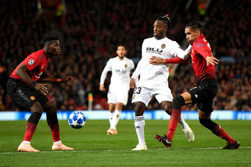Chris Smalling Manchester United vs. Valencia - UEFA Champions League Group H