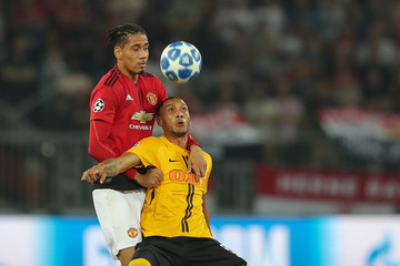 Chris Smalling BSC Young Boys v Manchester United - UEFA Champions League Group H