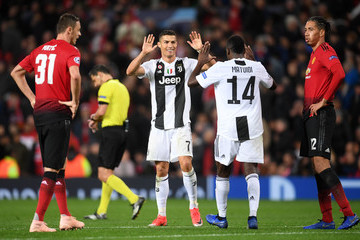 Chris Smalling Manchester United vs. Juventus - UEFA Champions League Group H