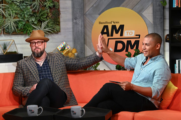 Chris Sullivan Celebrities Visit BuzzFeed's 'AM To DM' - August 19, 2019