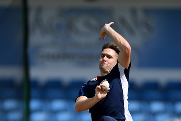 Chris Woakes England and South Africa Nets Session