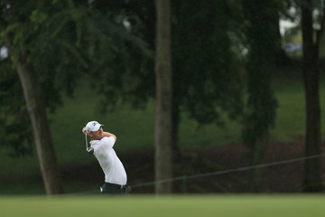 Chris Wood PGA Championship - Preview Day 2