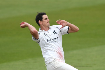 Chris Wright Warwickshire vs. Derbyshire - Specsavers County Championship: Division Two