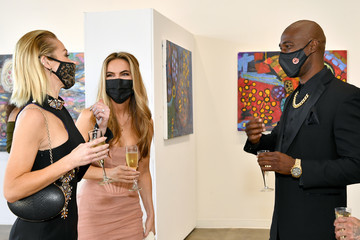 "Chrishell Stause Mary Fitzgerald MASH Gallery Presents ""Overload"" Indoor/Outdoor Exhibit By Artist Maggi Hodge"