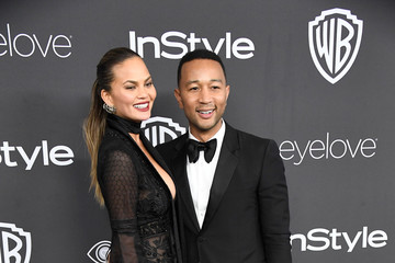 Chrissy Teigen Warner Bros. Pictures and InStyle Host 18th Annual Post-Golden Globes Party - Arrivals