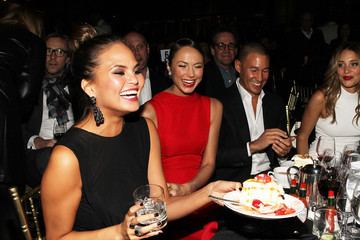 Chrissy Teigen Hannah Jeter Super Bowl XLVIII Party Hosted By Shape And Men's Fitness